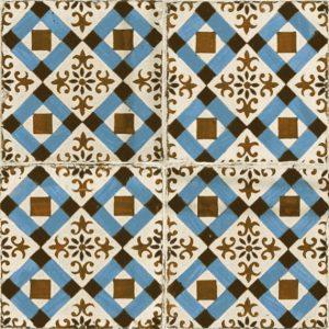 Płytka ścienna i podłogowa o matowym wykończeniu. W kolekcji FS Original możemy znależć płytki w formacie 45x45, które pokryte są kwiatowymi i geometrycznymi wzorami. Projekt płytek wykonał projektant Francisco Segarra, który specjalizuje się w projektach utrzymanych w industrialnym stylu vintage. W związku z tym kafelki będą bardzo dobrze prezentować się w rustykalnych pomieszczeniach, które wymagają użycia celowo postarzanych płytek. Dodatkowo dużym atutem jest kolorystyka rustykalnych kafli. Wszystkie utrzymane są w odcieniach żółci, zieleni i błękitu co jeszcze bardziej podkreśla ich retro charakter.