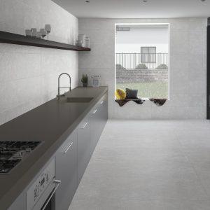 Peronda Grunge Floor White 90x90
