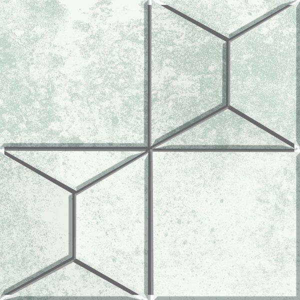 Fanal Mosaico Pyramid White 30x30