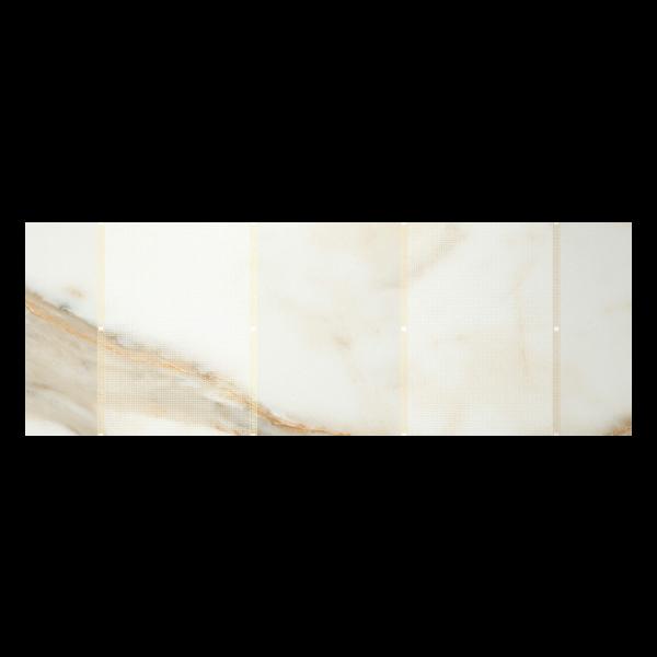 Fanal Calacatta Greca Gloss Gold 31,6x90