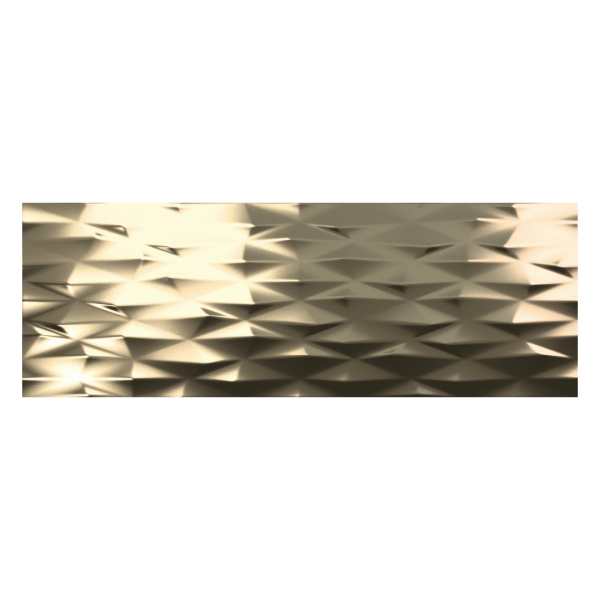 Fanal Calacatta Decor.Prisma Gold 31,6x90