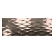 Fanal Calacatta Decor.Prisma Bronze 31,6x90