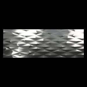 Fanal Calacatta Decor.Prisma Silver 31,6x90