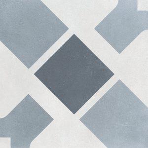 Harmony Havana White Cross 22,3x22,3