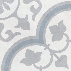 Harmony Havana Silver Ornate 22,3x22,3
