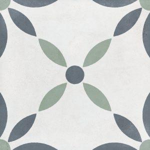 Harmony Havana White Flower 22,3x22,3