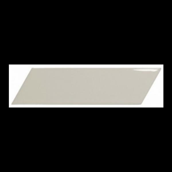 Equipe Chevron Wall Greige Left 18,6x5,2