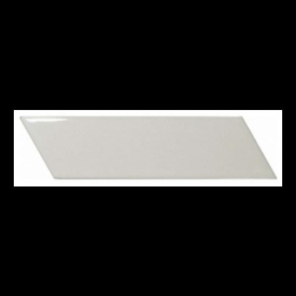 Equipe Chevron Wall Light Grey Right 18,6x5,2