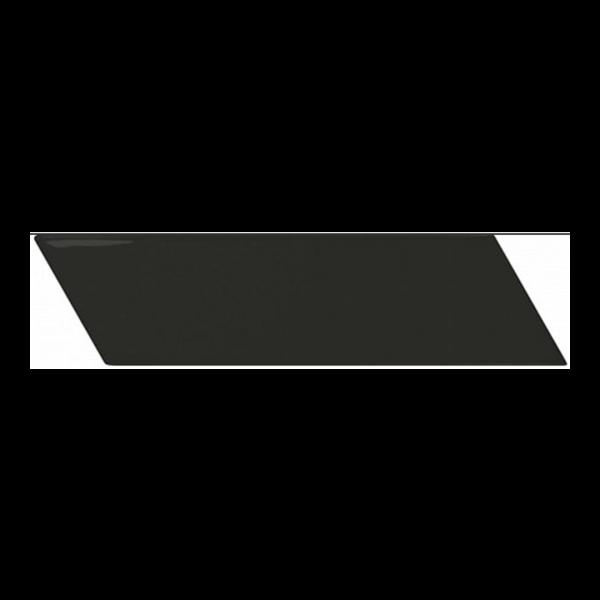 Equipe Chevron Wall Black Matt Right 18,6x5,2