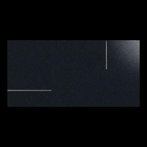 Fanal Universe Metal Black 45x90