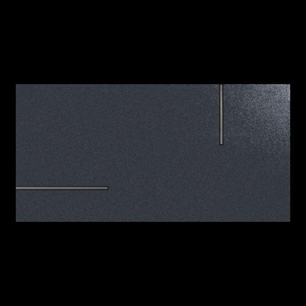 Fanal Universe Metal Blue 45x90