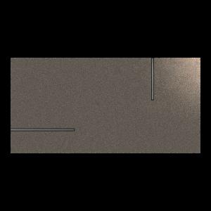 Fanal Universe Metal Grey 45x90