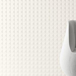 Harmony Pique Mosaic White 20x40